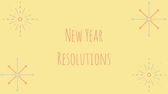 New Year Resolutions toward Self Actualization